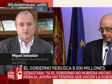 """Miguel Sebastián: """"Montoro es un activista populista, lo ha demostrado con sus medidas sobre los impuestos"""""""