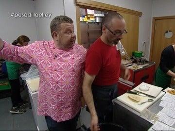 Alberto Chicote y Juan Carlos en Pesadilla Rey