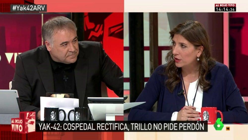 """Frame 27.223315 de: Curra Ripollés: """"No nos vamos a rendir. No dieron su vida por España, España les quitó la vida"""""""