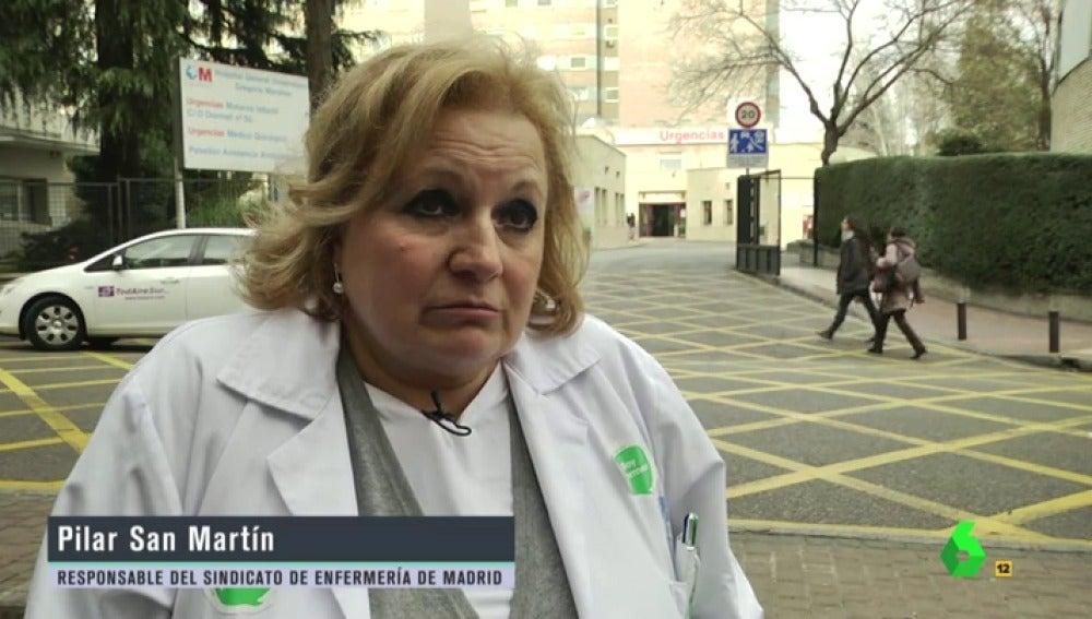 """Frame 184.07883 de: Pilar San Martín, sobre la epidemia de gripe: """"Las cirugías no urgentes se han pospuesto hasta que acabe el brote"""""""