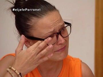 Cristina en El Jefe Infiltrado Porronet