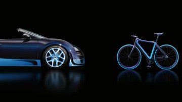 La bicicleta fabricada por Bugatti
