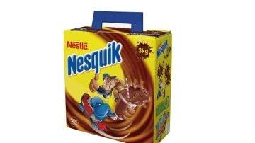 Una caja de Nesquik