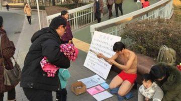 El duro plan de un padre chino para salvar a su hijo