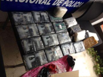Cocaína encontrada en Dénia