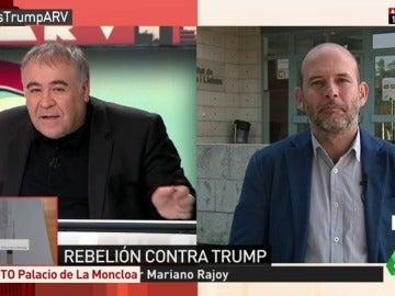 """Frame 0.227669 de: Álvarez-Ossorio, sobre el veto de Trump: """"Se ha dejado en el tintero países claves en la financiación terrorista"""""""