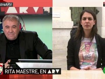 """Frame 17.587163 de: Rita Maestre, sobre la falta de acuerdo en Podemos: """"Se está produciendo un golpe burocrático por parte del secretario de Organización"""""""