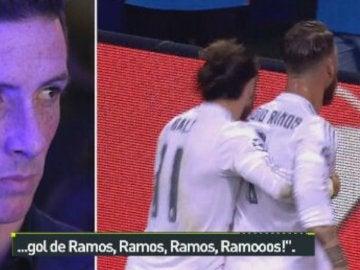 La cara de Torres al ver la final de Milán