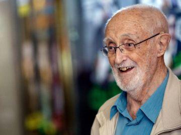 El escritor y humanista José Luis Sampedro
