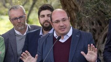 Pedro Antonio Sánchez niega que se le investigue por corrupción