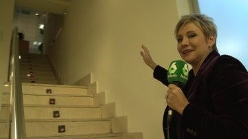 Gloria Serra nos enseña la redacción de Equipo de Investigación