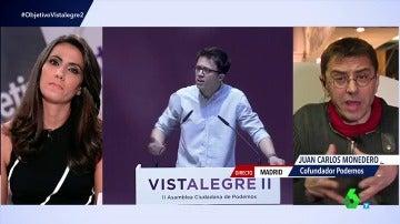 """Frame 28.663937 de: Monedero: """"Errejón planteó a Iglesias ser secretario político, una forma de decir 'soy un secretario general bis'"""""""
