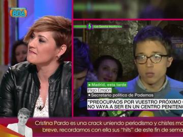 Cristina Pardo, en Zapeando