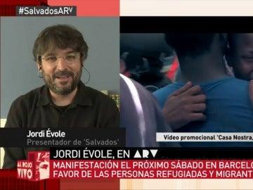"""Frame 33.591896 de: Manifestación en apoyo a los refugiados y migrantes este sábado en Barcelona: """"Me encantaría ver las calles llenas"""""""