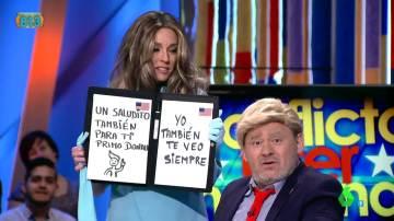 Paco Trump y Melania, en Zapeando