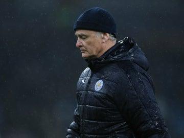 Claudio Ranieri, con el Leicester