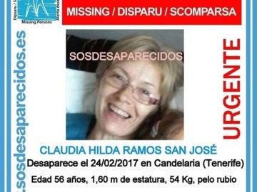 Desaparecida Claudia Hilda Ramos San José