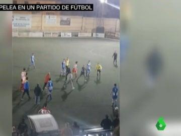 Agresión a un árbitro en Dos Hermanas, Sevilla