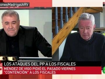 """Frame 20.034431 de: Jorge Verstrynge: """"Catalá es el brazo armado de la vicepresidenta, que no va a dejar que nadie le meta mano"""""""