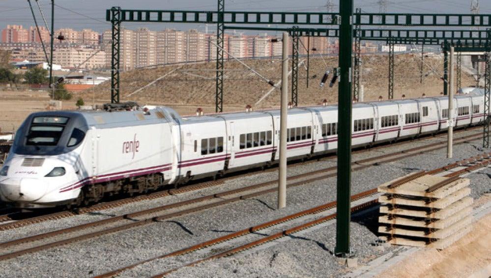 Un tren del AVE