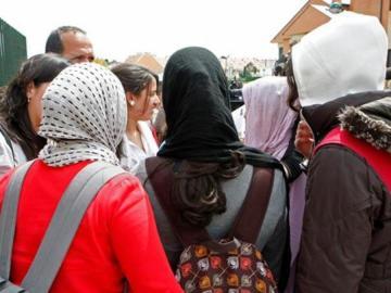 Niñas velo hiyab hijab Najwa