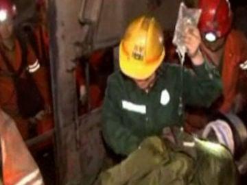 Rescate en una mina de China (Archivo)