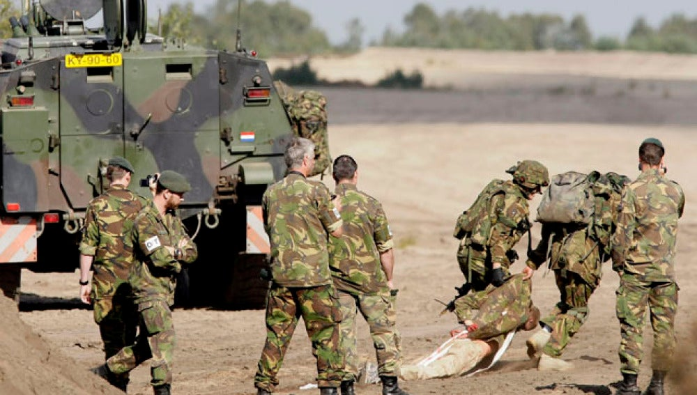 Tropas holandesas en Afganistán