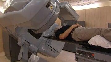 Nuevo sistema de radioterapia