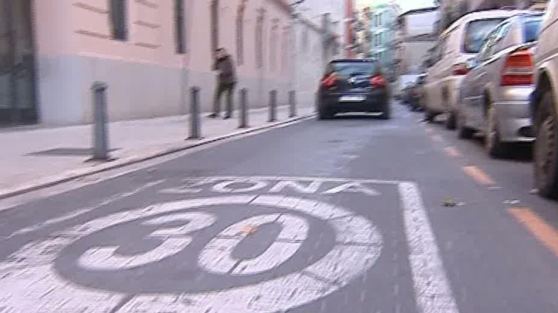 Valencia ya limita la velocidad a 30 Km/h