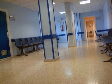 Sala de espera de un hospital