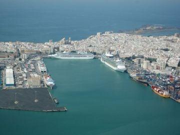 El puerto de Cádiz en una imagen de archivo