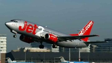 Un avión de la compañía Jet2
