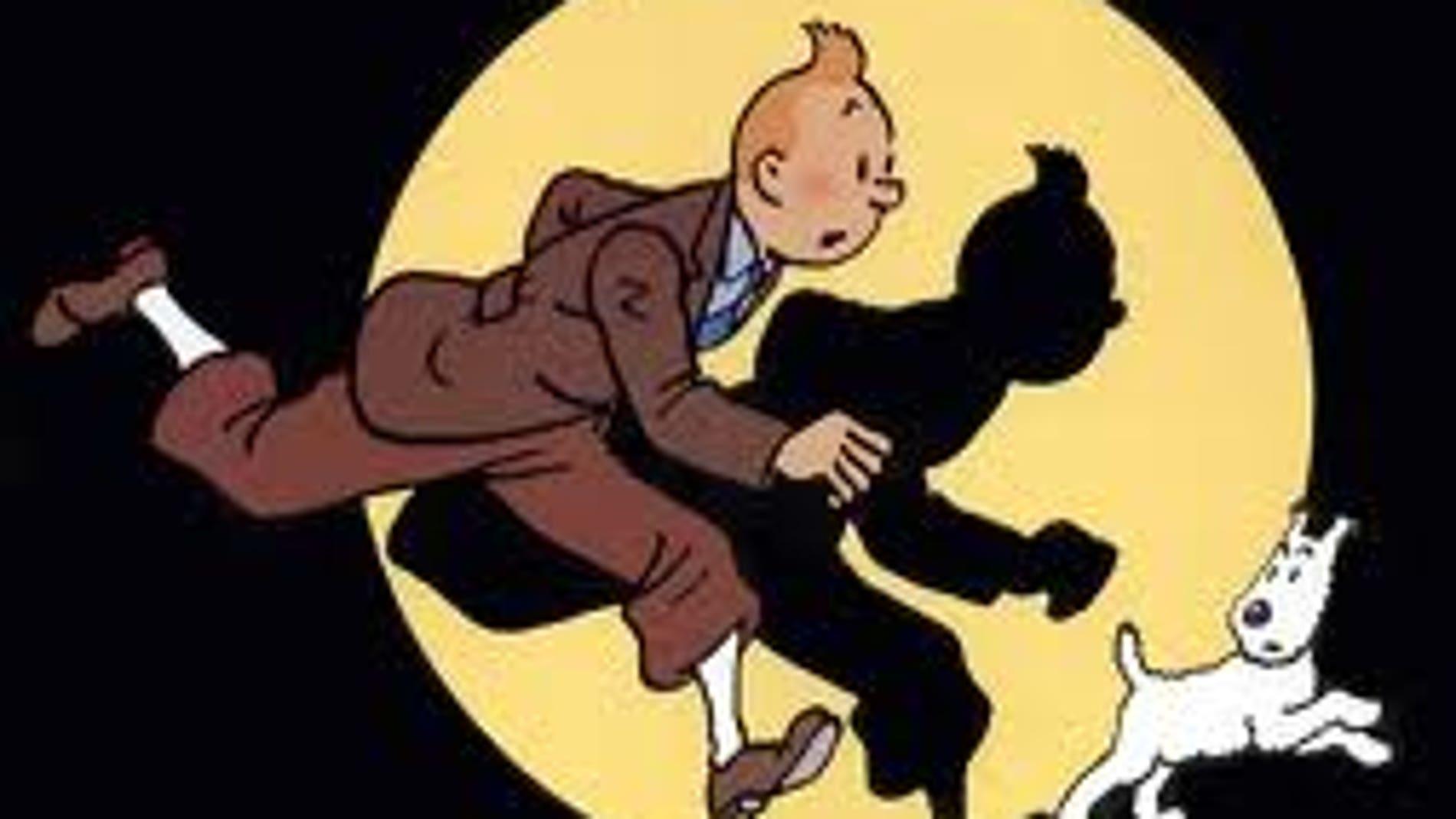 Tintín inicia su carrera en el mundo del comic