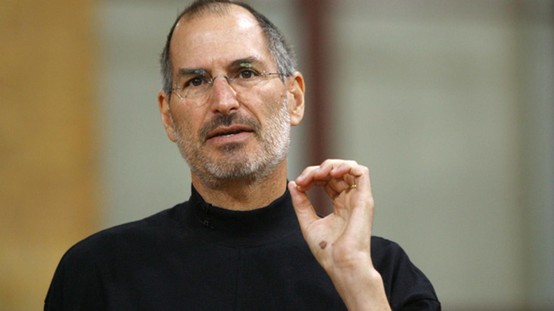Steve Jobs falleció a causa de un cáncer de páncreas