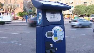 Problemas con los 'parquímetros' en Madrid