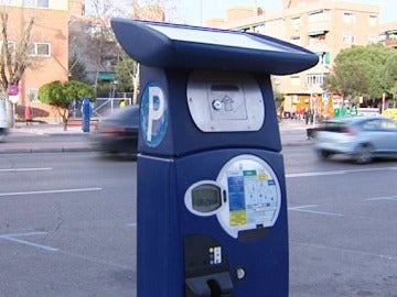 Problemas con los parquímetros en varias zonas de Madrid