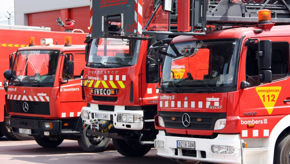 Coches de bomberos de Barcelona