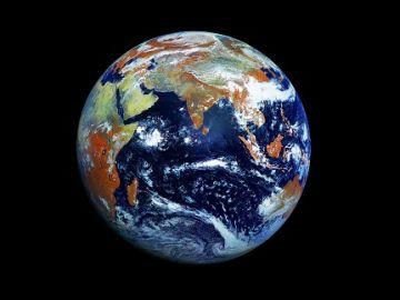 Vista del planeta Tierra