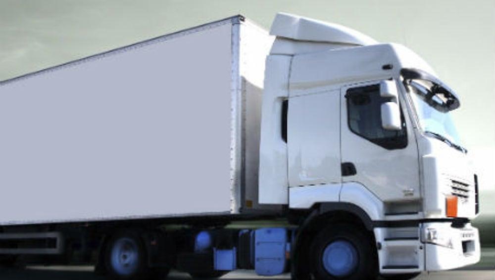 Un camión en una imagen de archivo