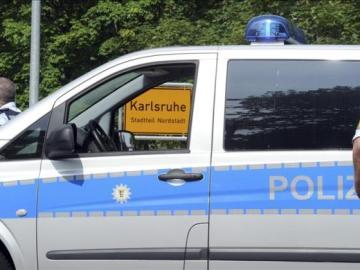 Vehículo policial en Alemania