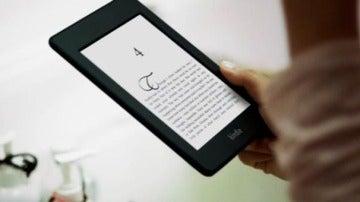 Dispositivo eReader de Amazon.