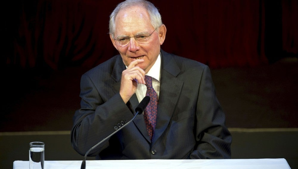 Ministro alemán de Finanzas, Wolfgang Schäuble