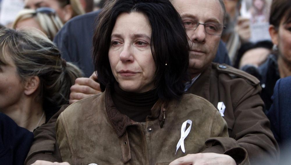Los padres de Marta del Castillo en una manifestación