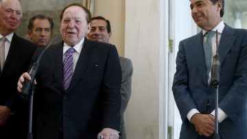 Sheldon Adelson e Ignacio González