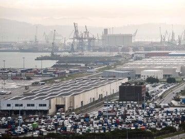 Imagen de archivo del puerto de Bilbao