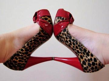 Zapatos de tacón alto.
