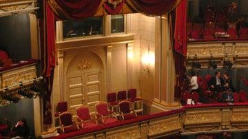 Interior del Teatro Real de Madrid.