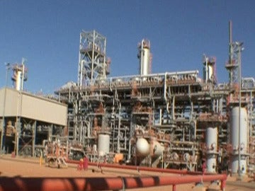 Planta de gas de Argelia