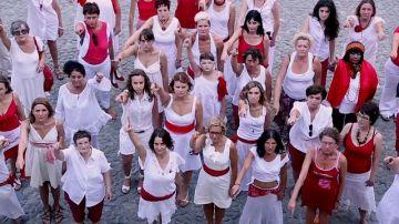 Mujeres de San Fermin contra la violación femenina