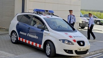 Imagen de archivo de un coche de los Mossos d'Esquadra.